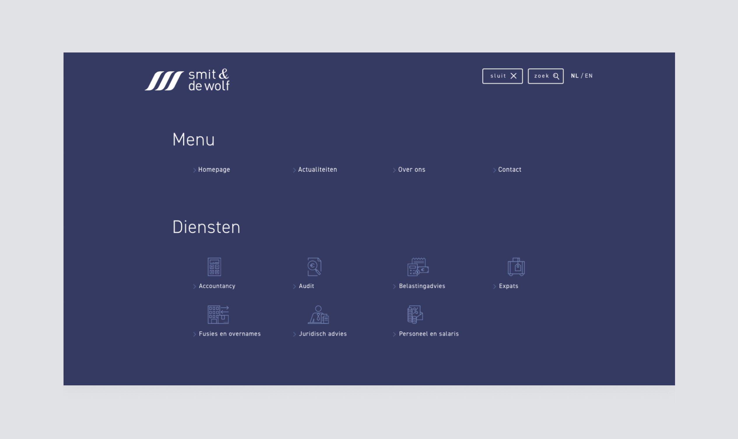 Image of the menu